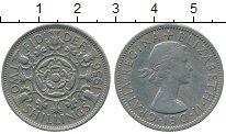 Изображение Дешевые монеты Великобритания 2 шиллинга 1956 Медно-никель XF