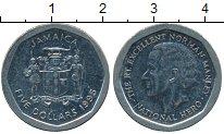 Изображение Дешевые монеты Ямайка 5 долларов 1995 Медно-никель XF-