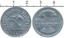 Изображение Дешевые монеты Германия 50 пфеннигов 1922 Алюминий VF