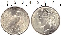 Изображение Монеты США 1 доллар 1922 Серебро XF