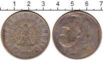 Изображение Монеты Польша 10 злотых 1936 Серебро XF-