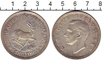 Изображение Монеты ЮАР 5 шиллингов 1949 Серебро XF