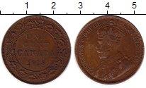 Изображение Монеты Канада 1 цент 1918 Бронза XF Георг V