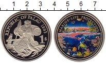 Изображение Монеты Палау 1 доллар 1993 Медно-никель Proof-