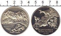 Изображение Монеты Словакия 500 крон 1999 Серебро UNC Национальный парк Та