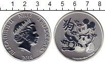 Изображение Монеты Ниуэ 2 доллара 2018 Серебро UNC