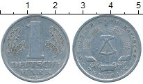 Изображение Дешевые монеты ГДР 1 марка 1956 Алюминий XF-