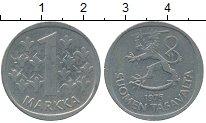Изображение Дешевые монеты Финляндия 1 марка 1975 Медно-никель XF