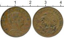 Изображение Дешевые монеты Мексика 5 сентаво 1965 Бронза XF