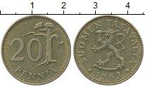 Изображение Дешевые монеты Финляндия 20 пенсов 1963 Бронза XF