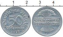 Изображение Дешевые монеты Германия 50 пфеннигов 1920 Алюминий XF