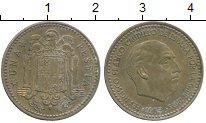 Изображение Дешевые монеты Испания 1 песета 1953 Бронза XF
