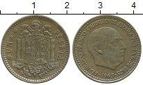 Изображение Дешевые монеты Испания 1 песета 1963 Латунь XF