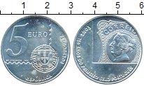 Изображение Монеты Португалия 5 евро 2005 Серебро UNC