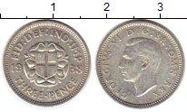 Изображение Монеты Великобритания 3 пенса 1938 Серебро XF
