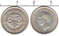 Изображение Монеты Великобритания 3 пенса 1941 Серебро XF