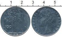Изображение Дешевые монеты Италия 100 лир 1979 Сталь XF