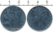 Изображение Дешевые монеты Италия 100 лир 1976 Сталь XF