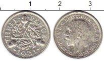 Изображение Монеты Великобритания 3 пенса 1931 Серебро VF