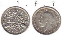 Изображение Монеты Великобритания 3 пенса 1931 Серебро XF Георг V