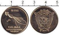 Изображение Монеты Антарктика - Французские территории 10 франков 2011 Медно-никель UNC