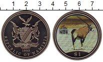 Изображение Монеты Намибия 1 доллар 1995 Медно-никель UNC