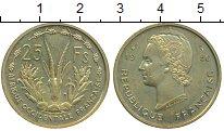 Изображение Монеты Французская Западная Африка 25 франков 1956 Латунь UNC-