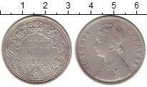 Изображение Монеты Индия 1 рупия 1877 Серебро XF