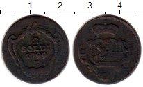 Изображение Монеты Гориция 2 сольдо 1799 Медь VF+ м/д Халл, Франц II
