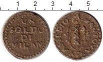 Изображение Монеты Италия Мантуя 1 сольдо 1799 Медь XF