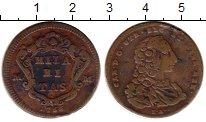 Изображение Монеты Италия Неаполь 2 торнези 1756 Медь VF+