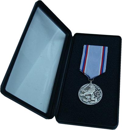 Изображение Значки, ордена, медали Европа Чехия Медаль 1996 Посеребрение UNC