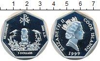 Изображение Монеты Острова Кука 5 долларов 1999 Серебро Proof- Миллениум