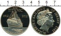 Изображение Монеты Остров Джерси 5 фунтов 2012 Медно-никель UNC