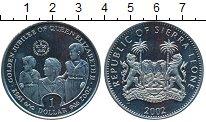 Изображение Монеты Сьерра-Леоне 1 доллар 2002 Медно-никель UNC