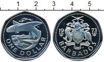 Изображение Монеты Барбадос 1 доллар 1973 Медно-никель Proof