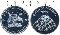 Изображение Монеты Уганда 1000 шиллингов 2002 Медно-никель Proof-