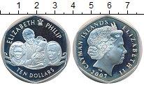 Изображение Монеты Великобритания Каймановы острова 10 долларов 2007 Серебро Proof-