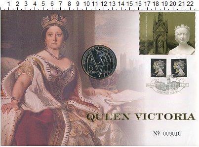 Изображение Подарочные монеты Великобритания 5 фунтов 2001 Медно-никель UNC
