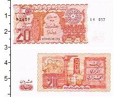 Изображение Банкноты Алжир 20 динар 1983  UNC