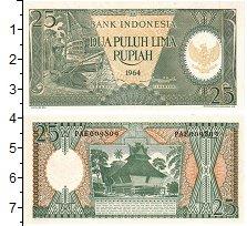 Изображение Банкноты Индонезия 25 рупий 1964  UNC