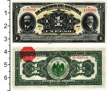 Изображение Банкноты Мексика 1 песо 1913  XF