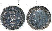 Изображение Монеты Великобритания 2 пенса 1912 Серебро Prooflike