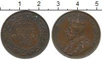 Изображение Монеты Канада 1 цент 1912 Бронза XF