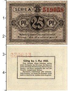 Изображение Банкноты Германия : Нотгельды 25 пфеннигов 1922  XF