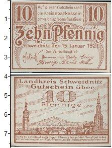 Изображение Банкноты Германия : Нотгельды 10 пфеннигов 1921  UNC-