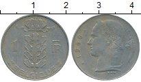 Изображение Дешевые монеты Бельгия 1 франк 1960