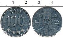 Изображение Дешевые монеты Южная Корея 100 вон 2012