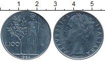 Изображение Дешевые монеты Италия 100 лир 1964 нержавеющая сталь