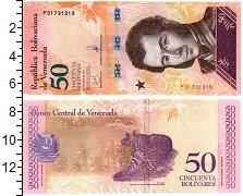 Изображение Банкноты Венесуэла 50 боливар 2018  UNC
